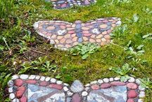 Stepping stones DIY & Ideas
