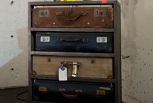 Old suitcases / by Kathleen Bogart