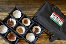 Θερμόσακοι καφέ / Θερμόσακοι διανομής καφέ με αποσπώμενες υφασμάτινες θήκες, το ιδανικό μέσο μεταφοράς καφέ για να φτάνουν στη σωστή θερμοκρασία και χωρίς να έχουν υποστεί κραδασμούς κατα τη μεταφορά.