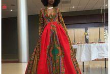 vestido estilo africano