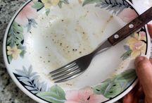 Comida Boa Muda Tudo Comi tudo, tá? Acrescentei manteiga e ovo cru. E ficou comestível.