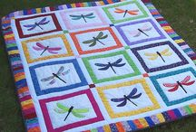 Dragon fly quilts