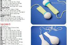 T-toys(Handmade by Tuba) / amigurumi, amigurumi pattern