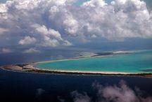 Kiribati / Eilandengroep in de Grote Oceaan.