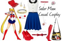 Sailor Moon Casual Cosplay / by Shelley Larson-Reeves