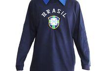 Camisas de Futebol / Uniformes da seleção brasileira
