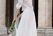 Wedding | Dresses | Separates / Beautiful bridal separates to create a relaxed and effortlessly stylish look for your wedding day