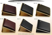 VH leather GIFT cigarette cases ELENPIPE® online wholesale / Elenpipe® exclusive distributor of the trademark VH Germany, which for more than 50 years specialize in production of leather cigarette cases. Cigarette cases are mainly produced from Italian leather, some models from high quality PVC; base metal gilt, Nickel, chrome, other colors are metallic. All cigarette cases are Packed in individual paper box. All Range You can find on our online shop www.elenpipe-sw.com. Its possible to order corporate products with unusual colors: blue, red, gold.