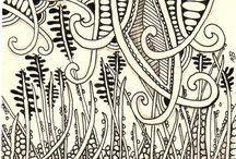 Zentangle Art / by ♫Lisa A