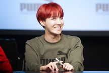 Jhope red hairs