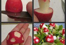 Zöldség, gyömölcs szobrászat