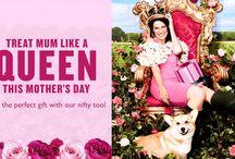 Trata a Mamá como una Reina / Ideas y regalos para el día de la madre 2016.