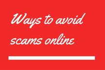 Ways to avoid scams online / Learn quick steps and procedures on ways to avoid scams online