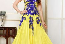 Karishma Kapoor Gown Style Yellow Anarkali Suit / Kiteshop Karishma Kapoor Gown Style Yellow Anarkali Suit, Glamour Beauty Karishma Kapoor designer Anarkali Suit collections are always liked by women in India and Pakistani Style. This time Karishma Kapoor designer launched very beautiful Embroidered semi-stitched clothes for women. New Latest Glamorous Different Designer Anarkali Suit also do some creative work on sleeves to give shinier and more heavy look to the dress.