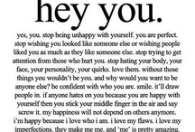 love.yourself. / by Kyra Hinderman