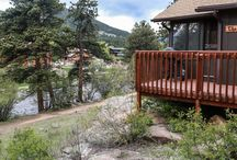 Brynwood on the River / View our cabins, vacation homes, and motel rooms at Brynwood on the River in Estes Park, CO!