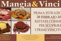 """Concorso """"Mangia&Vinci"""""""