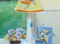 DIY Kids Lamps / Love these creative ideas for making your own kids lamps