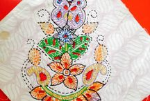 Liquid embroidery workshop by INIFD, Gandhinagar / Liquid embroidery workshop by INIFD, Gandhinagar