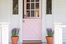 Entry door country