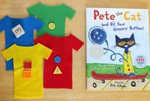 Pete the Cat / by Brooke Henningfeld