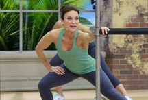 Fit Tower Videos / Good news Cathletes! It's time! Time to share some details of my new Fit Tower workouts with you. I am so excited to be able to tell you about these incredible workouts. All three of these new DVDs will be geared toward the advanced exerciser and will take the Fit Tower to a whole new level (many different levels, actually!). These new workouts will take you through unique and exciting exercises that utilize the many different height adjustments of the Fit Tower.