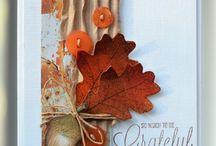 Осенние открытки