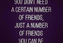 friend, life