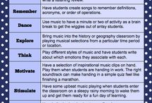 Music in the Classroom / Using music in the elementary classroom