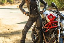 Hot Leather Babe's