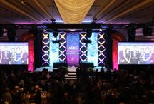 Event Productions / These are special events for which RCI Systems has provided AV support--audio, lighting, video, staging, decor, and/or backline.