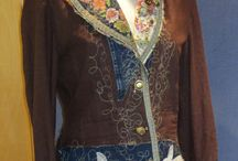 Embroidered clothing Одежда с вышивкой