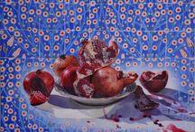 İsmail ACAR / Beğendiğim ressamlardan İsmail Acar'ın eserlerinden seçmeler...