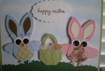 Easter / Easter punch art , cards,scrapbooking / by Lea Kiefer
