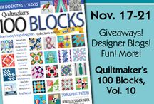 100 Blocks Volume 10 / by Quiltmaker Magazine