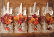 Fall Table Set Wine Theme