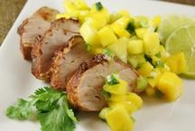 Healthy Pork Recipes / Busy Worknight Dinners | Healthy Dinners | Easy Dinners | Quick Dinners | Weekday Dinners | Grilled Pork | Pork Tenderloin | Easy | Healthy | Pork