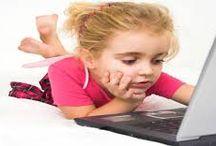 """Menores & Internet / Si son demasiado """"pequeñajos"""" para bajar solos al parque, no son """"mayores"""" para andar solos por internet. #ciberprudencia #cibercuidado"""
