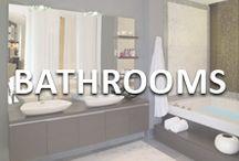 Beautiful Bathrooms / Bathroom ideas and inspiration from Team Mazzolino.