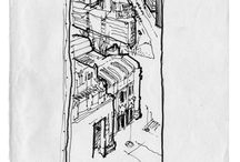 Milano sketches / drawings, sketches