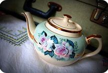 Fancy Vintage China Teapots