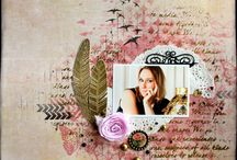 Divers / page scrapbooking layout