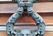 Door handles / Beautiful door handles and knobs