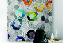 Quilts hexagonales