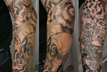 Chris's tattoos