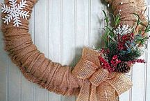 4 season wreaths with noodle