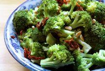 veggies , broccoli