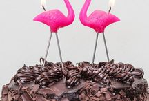 Lucy's flamingo 4th birthday! / by Maddie Reed