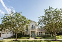 Snell Isle Homes / Beautiful homes in the heart of the Snell Isle neighborhood of St. Petersburg abounding with luxury decorator touches.