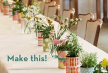 Décoration florale ★ Flower arranging